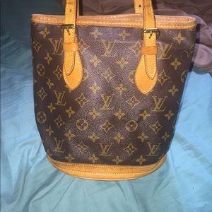 Handbags - Authentic Louis Vuitton bucket